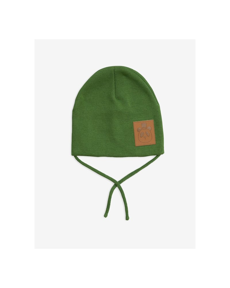 Mini Rodini Panda hat - Green