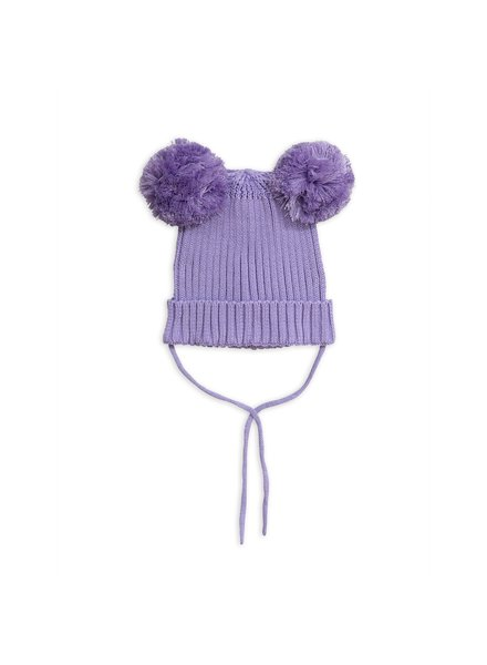 Mini Rodini Ear Hat - Purple