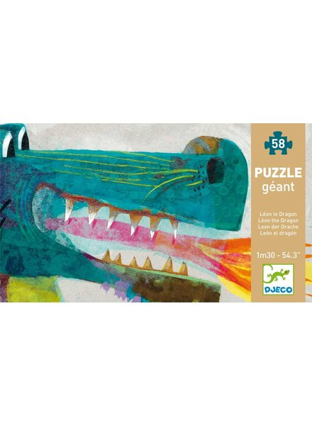 Djeco Puzzle Leon de draak