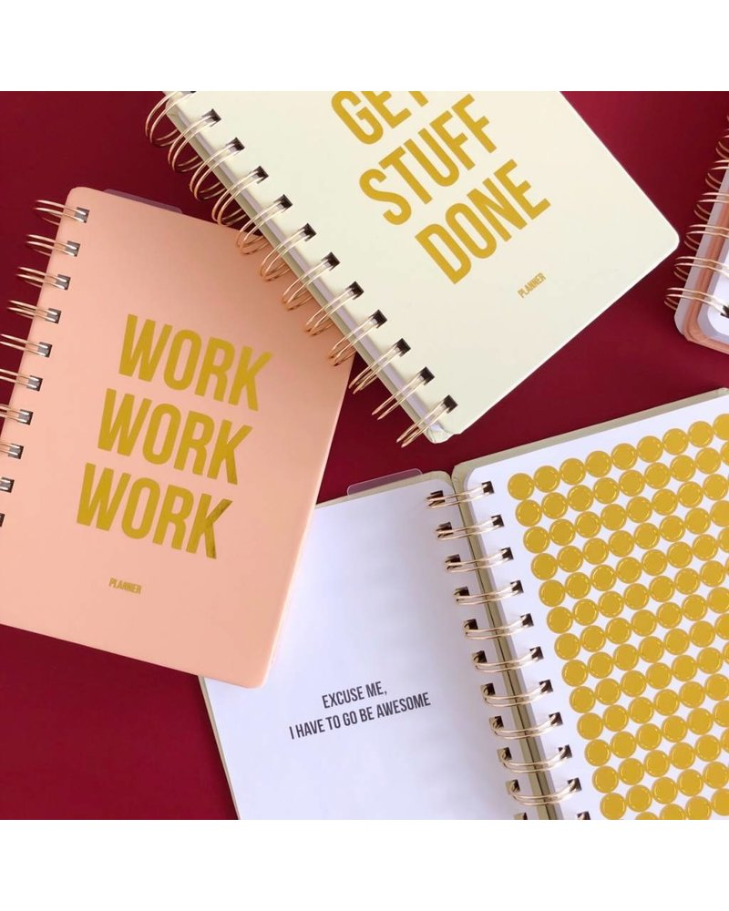 Studio Stationery Planner - Get Stuff Done - offwhite