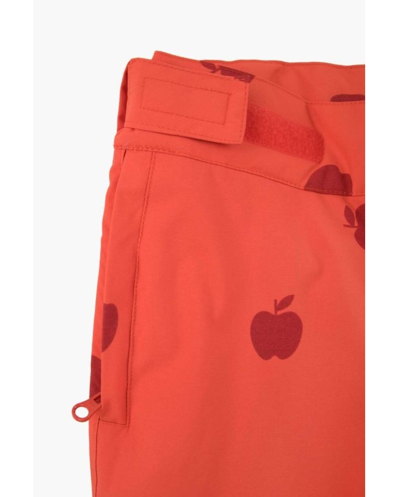 Tiny Cottons APPLES SNOW PANT red/burgundy
