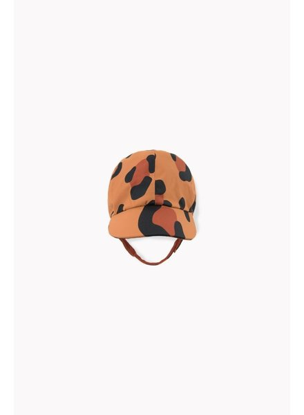 Tiny Cottons ANIMAL PRINT SNOW HAT brown/dark brown