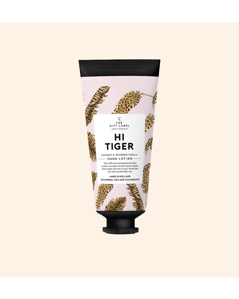 TheGiftLabel Hand Lotion Tube - Hi Tiger