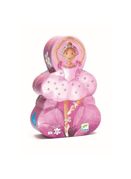 Djeco Silhouetpuzzel Ballerina