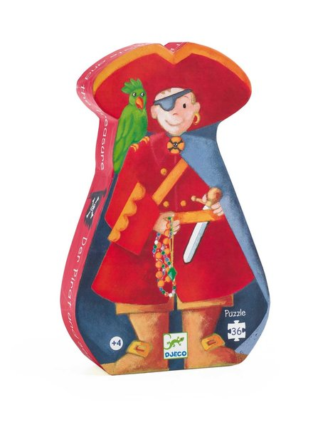Djeco Silhouettenpuzzle - Der Pirat