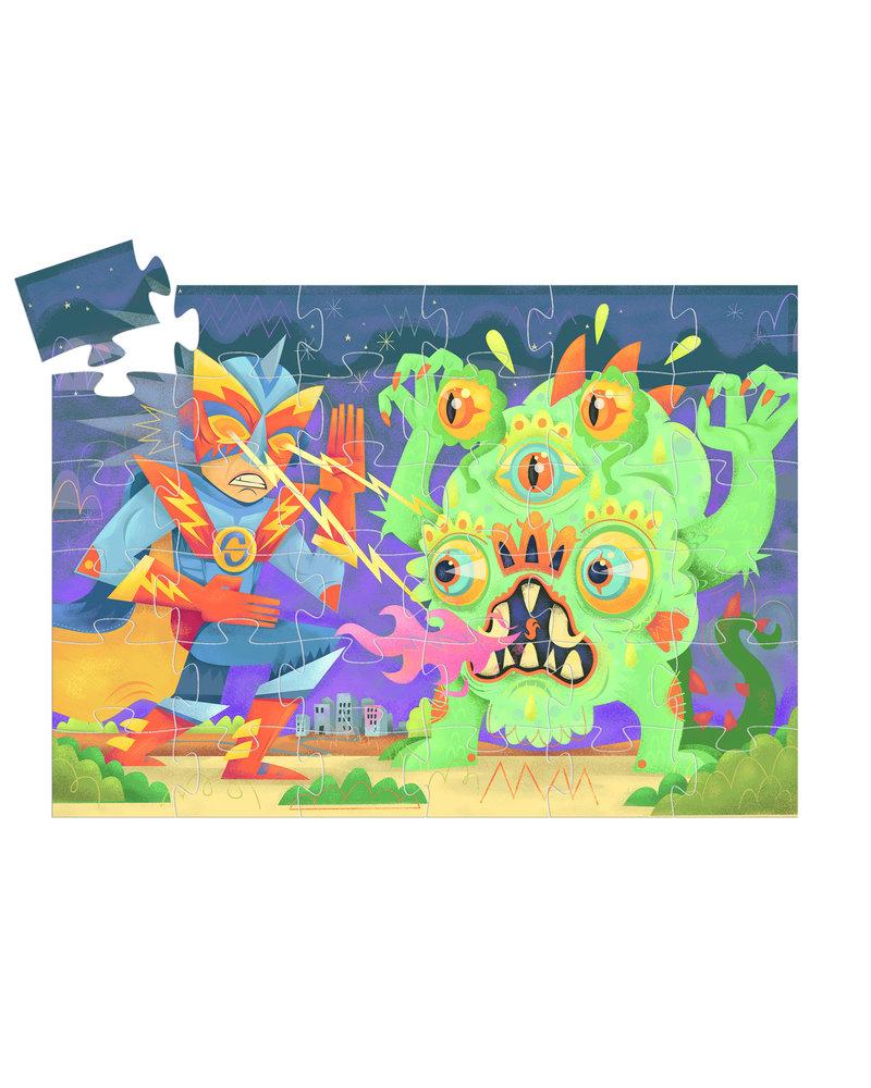 Djeco Silouette Puzzle - Laser Boy