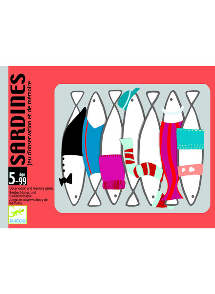 Djeco Card game - Sardines