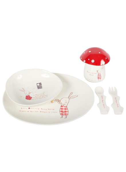 Maileg Bunny Honey Melamine Set
