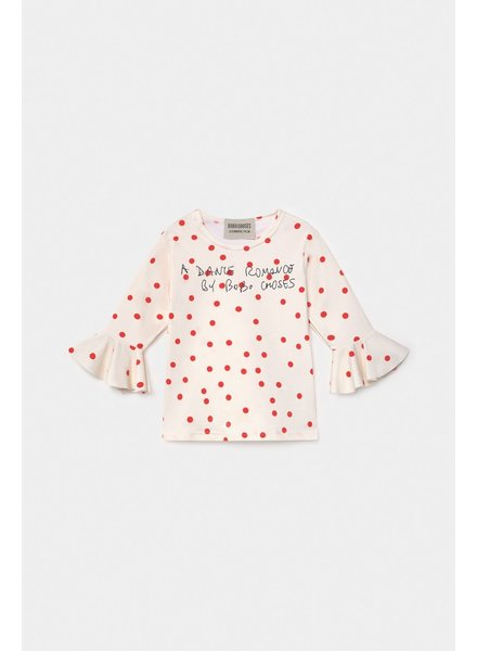 Bobo Choses Dots Ruffle Swim Top
