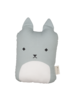 Fabelab Animal Cushion - Cuddle Cat - foggy blue