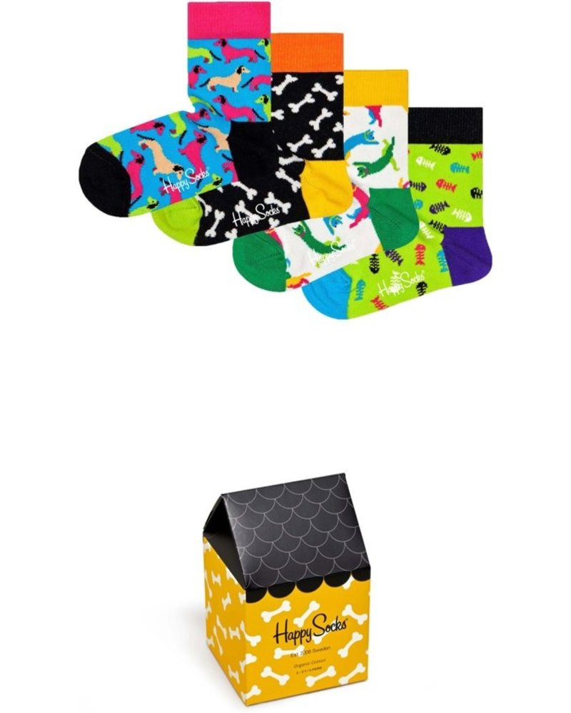 Happy Socks Kids Cats & Dogs Gift Box