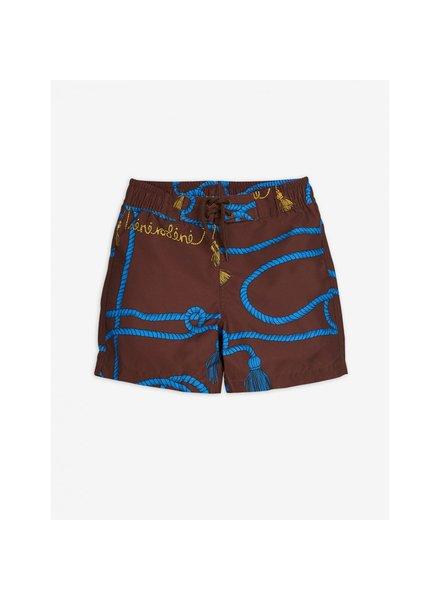 Mini Rodini Rope swimshorts - brown