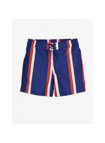 Mini Rodini Stripe swimshorts - blue
