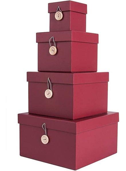 Aufbewahrungsboxen - 4er Set