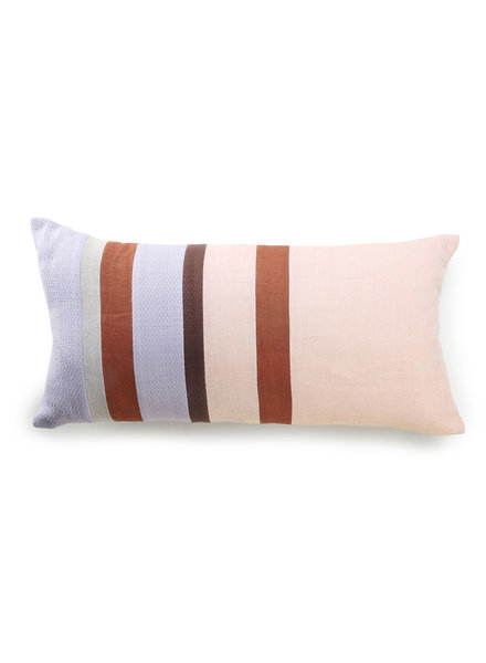 HK Living Linen striped cushion - C