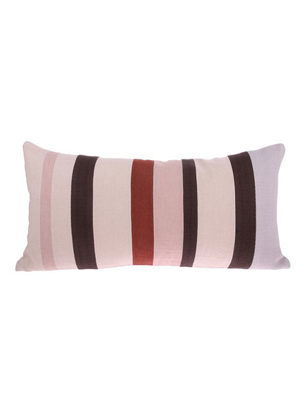 HK Living Linen striped cushion - D