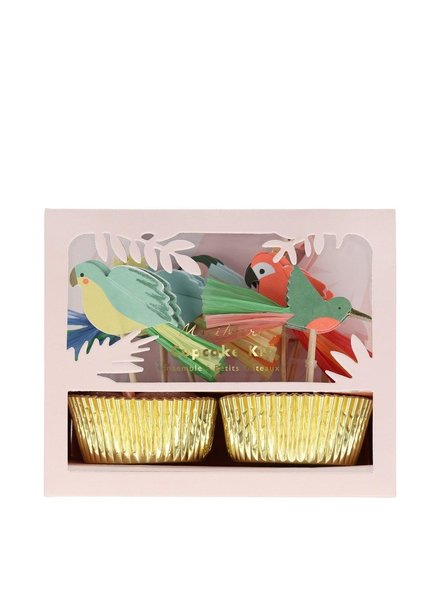 Meri Meri Tropical Bird Cupcake Kit