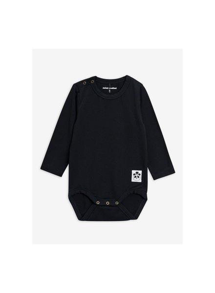 Mini Rodini Basic ls body - black