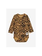 Mini Rodini Basic leopard body - beige