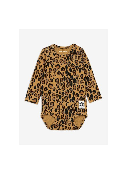Mini Rodini Basic leopard body - beige