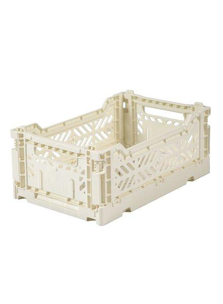 Ay-kasa Folding Crates - Cream