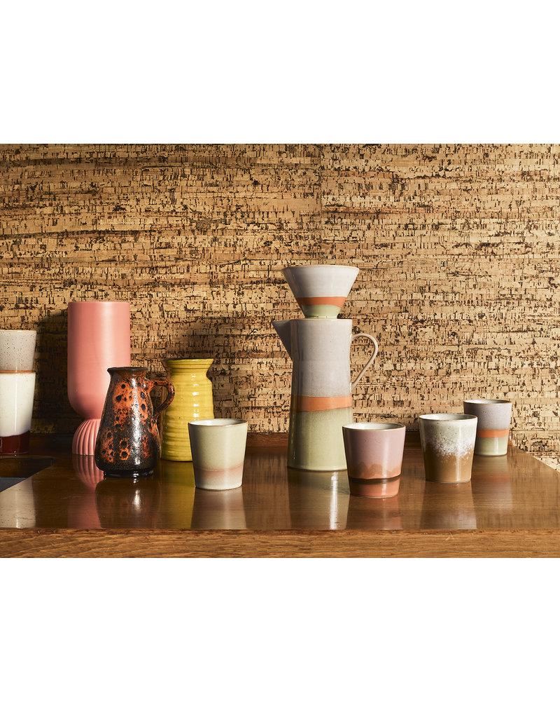 HK Living Ceramic 70's mug - Mars