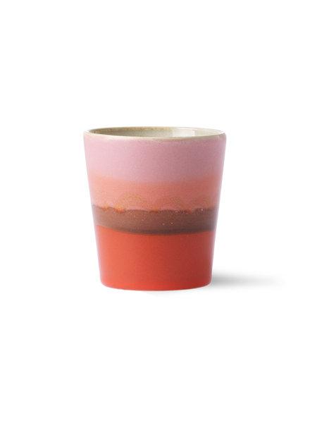 HK Living Ceramic 70's Tassen - Mars