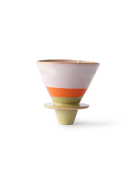HK Living Ceramic 70's coffee filter