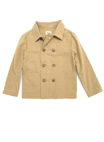 Long Live the Queen Worker Jacket - beige canvas