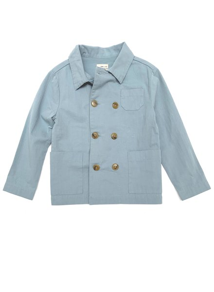 Long Live the Queen Worker Jacket - blue canvas