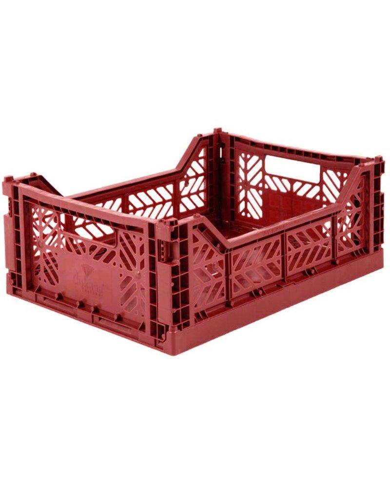 Ay-kasa Folding Crate - Tile Red