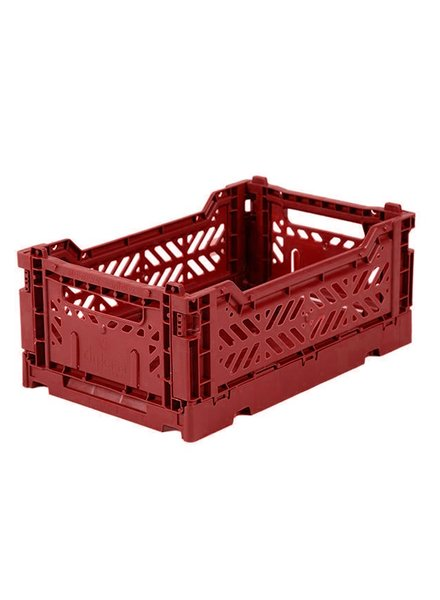 Ay-kasa Folding Crate - Tile Red