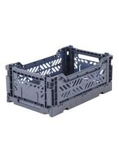 Ay-kasa Folding Crate - Cobalt Blue