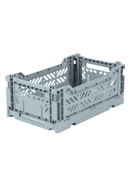 Ay-kasa Folding Crate - Pale Blue