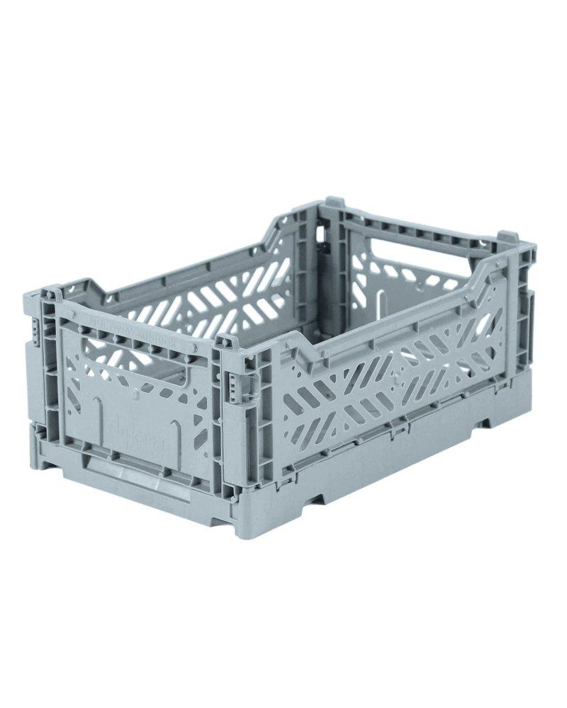 Ay-kasa Folding Crate - Pale Blue