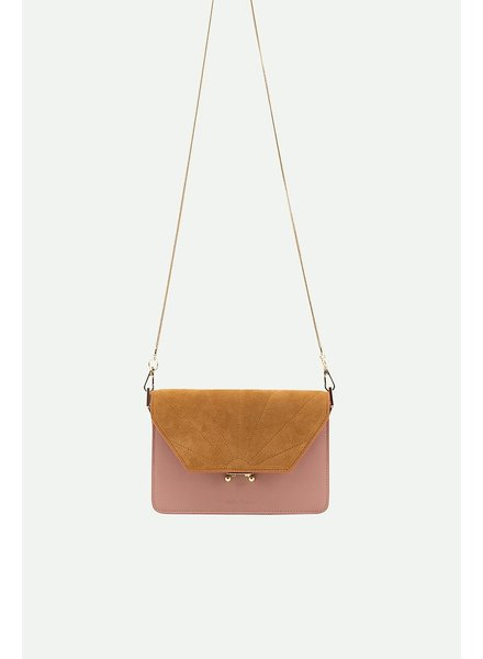 Sticky Lemon Shoulderbag dusty pink + sunny gold