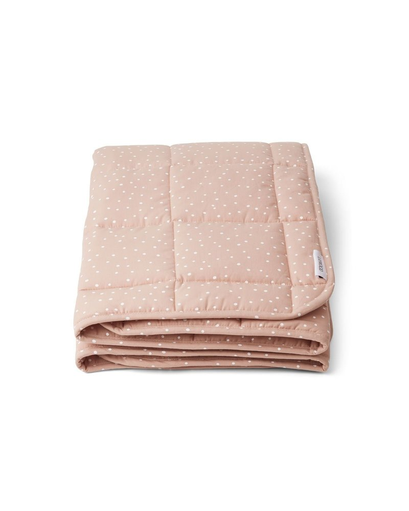 Liewood Ebbe quilted blanket - Confetti rose