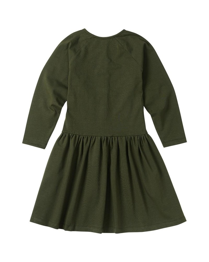 MINGO. Button Dress Forest Night