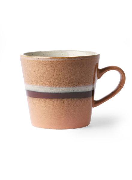 HK Living Ceramic 70's cappuccino mug - stream