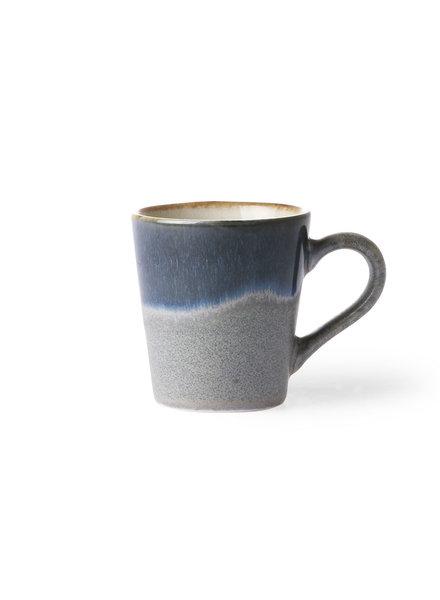 HK Living Ceramic 70's Espresso Tassen - ocean