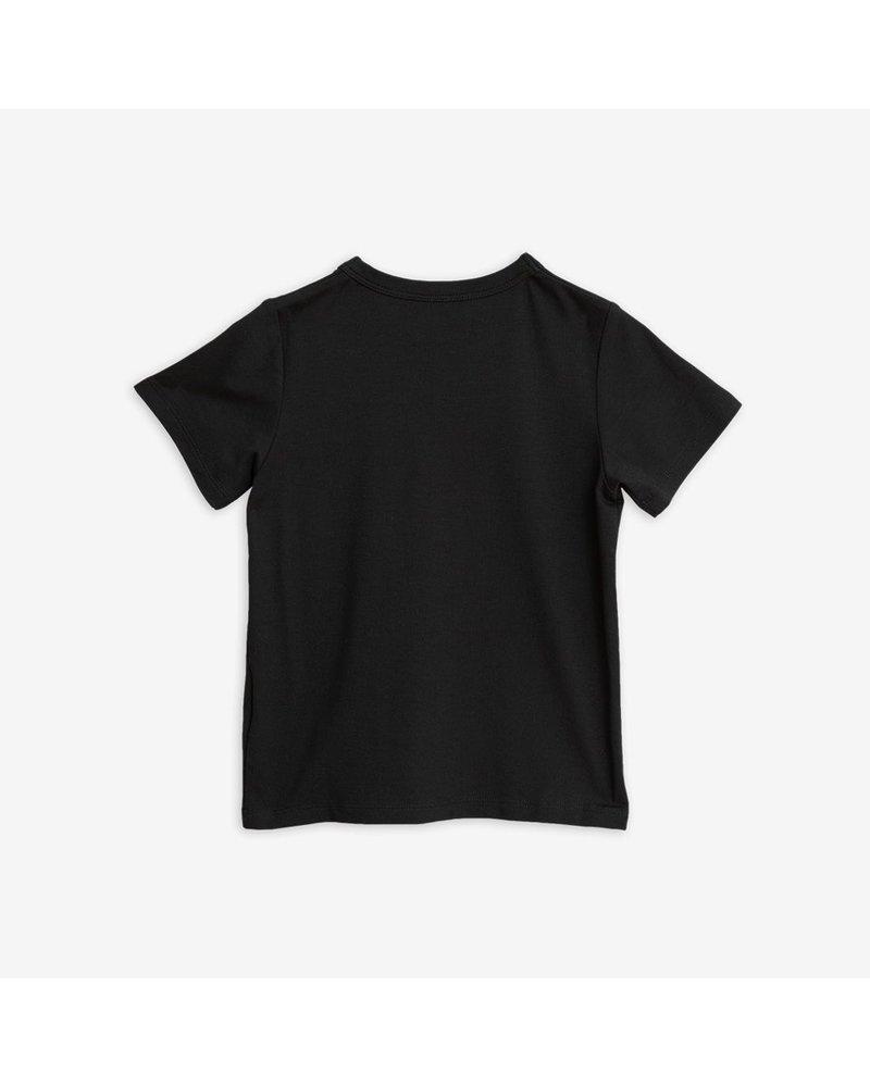 Mini Rodini Basic SS Tee - Black