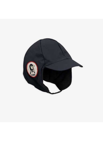 Mini Rodini ALASKA CAP - black