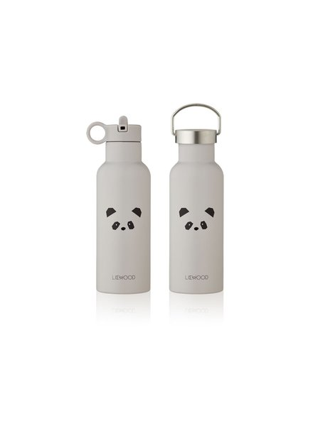 Liewood NEO water bottle - Panda light grey