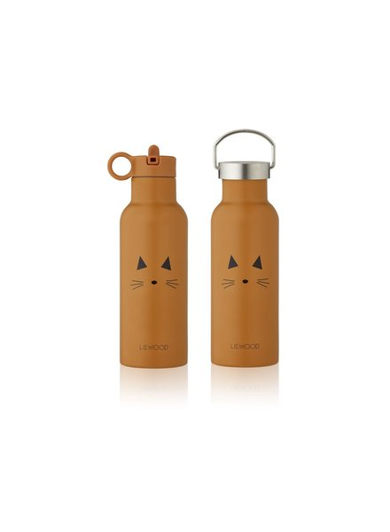 Liewood NEO water bottle - Cat mustard