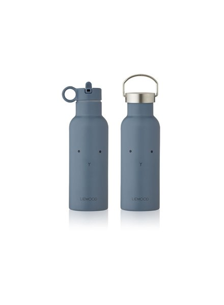 Liewood NEO water bottle - Rabbit Blue Wave