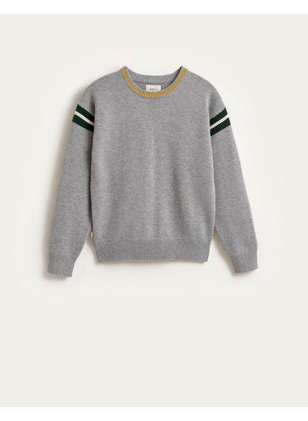 Bellerose GALYA KNIT SWEATER - Heather Grey