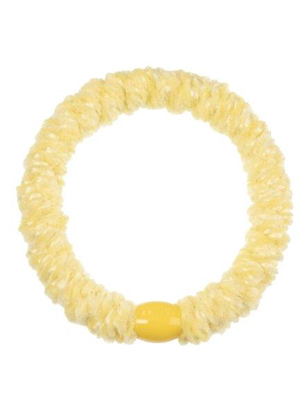 Bon Dep KKNEKKI Haargummi - velvet light yellow