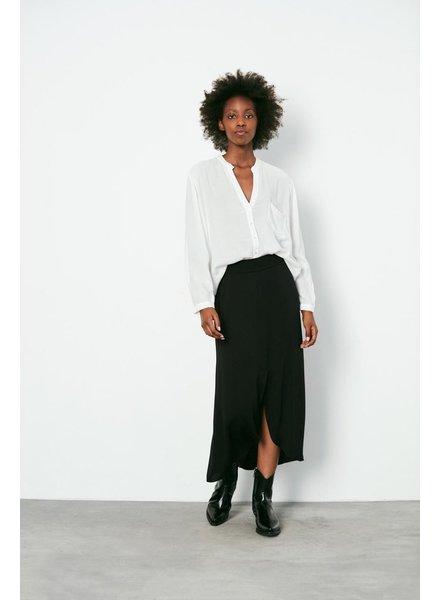Rabens Saloner NOELLA Solid tulip skirt - black