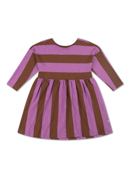 Repose AMS EASY DRESS - orchid block stripe
