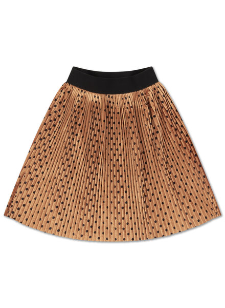 Repose AMS PLISSE SKIRT  - all over dot